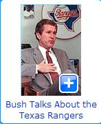 bush talks