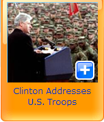 clinton U.S troops