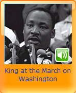 king at the march