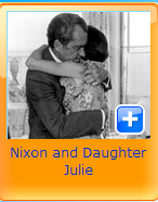 nixon and daughter
